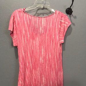 Apt 9 pink/coral shirt